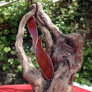 wood-and-glass-sculpture